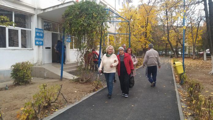 Secţie de votare din Craiova