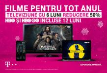 La Telekom Romania, iarna aceasta, clienții se pot bucura de Smartphone-uri la 0 euro, televiziune cu 50% reducere șase luni și HBO gratuit un an de zile