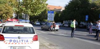 Pe 10 octombrie, o tânără de 25 de ani a fost rănită pe trecerea de pietoni din zona Laguna Albastră