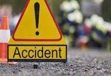 Trafic întrerupt pe DN6 în urma unui accident