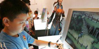 China le face program de joacă pe computer copiilor
