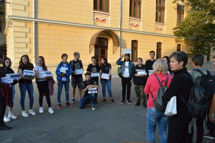 "Elevi dn Odorheiu-Secuiesc, la Colegiul Național ""Carol I"""