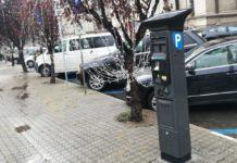 Au fost montate parcometrele pentru plata parcării în Craiova