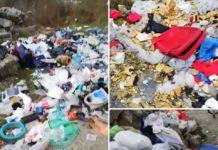 Zona CET, înțesată de gunoaie