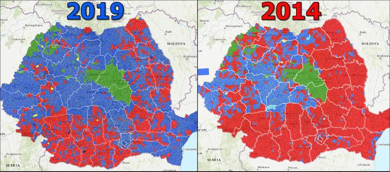 Cum s-a schimbat votul românilor în ultimii cini ani