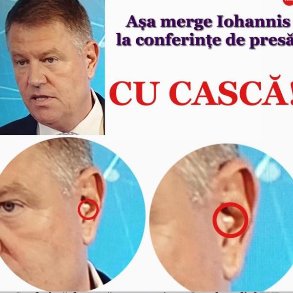 """Postarea fake news """"Iohannis a avut cască la conferință"""" a dispărut de pe pagina de Facebook a Gabrielei Firea"""