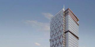 Cea mai înaltă clădire de birouri din România se construieşte în Iulius Town Timișoara UBC 0