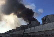 Ai izbucnit un incendiu la Combinatul Azomureş