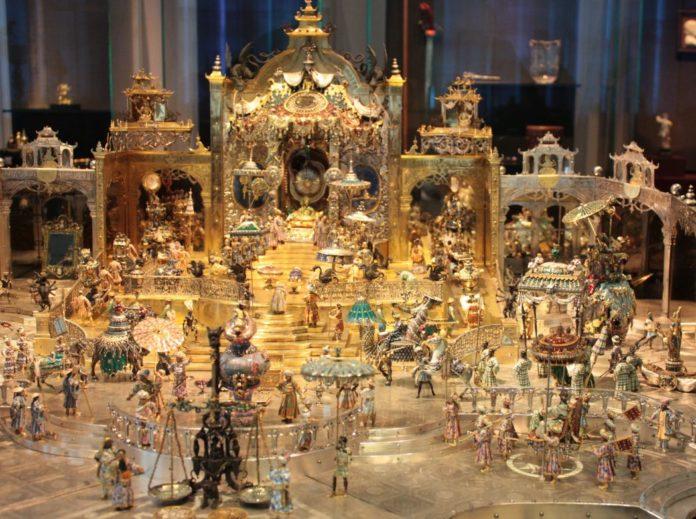 O comoară evaluată la un miliard de euro a fost furată dintr-un muzeu