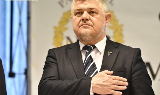 Ninel Peia, candidatul la preşedinţia României din partea Partidului Neamul Românesc / Foto: JUSTINEL STAVARU/MEDIAFAX