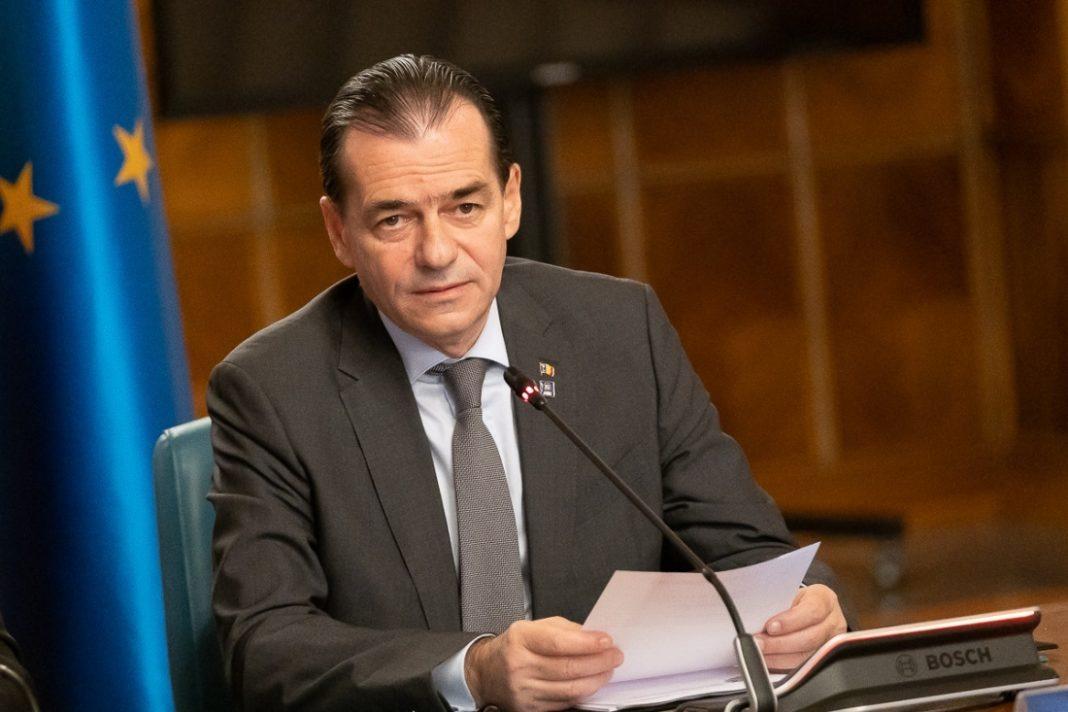 Premierul Ludovic Orban: Am luat decizia de a ne angaja răspunderea pentru trei proiecte