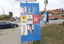Panourile electorale din Craiova sunt păzite de Poliţia Locală