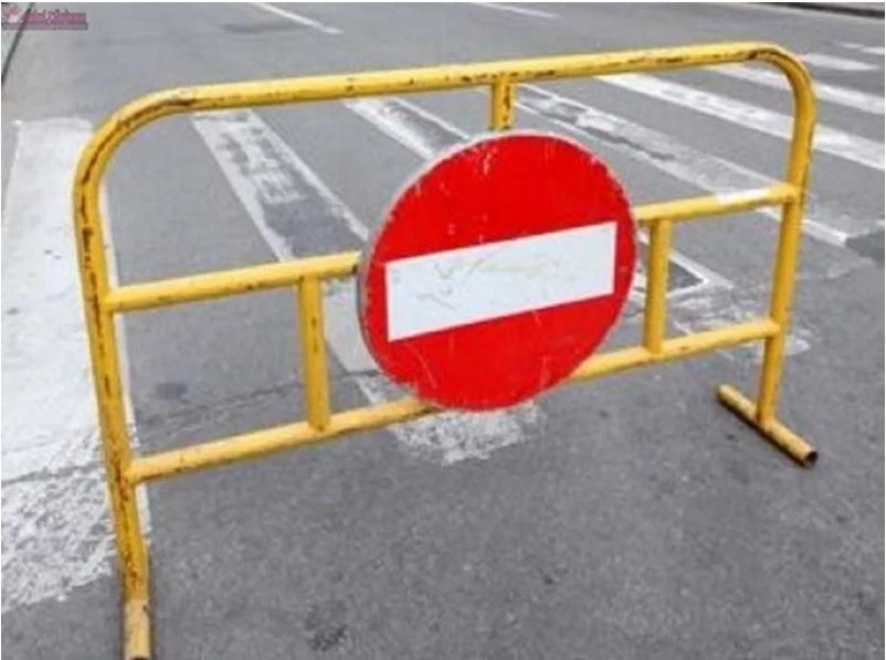 Se va închide circulaţia rutieră pe str. Unirii