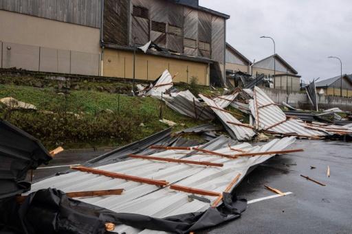 Furtuna Elsa face ravagii în Europa