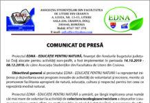 Proiectul EDNA - Educaţie pentru Natură