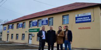 Ion Prioteasa prezent la inaugurarea dispensarului din Bratovoeşti