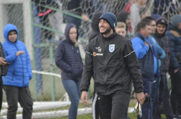Mirko Pigliacelli va urmări meciul cu FC Botoşani tot printre suporteri (Foto: Alex Vîrtosu)