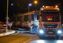 Transport agabaritic pe ruta Borș PTF - Calafat PTF