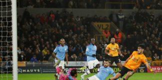 Jucătorii lui Wolves au făcut un final de meci memorabil contra lui City