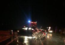 Accident pe Drumul Naţional 65
