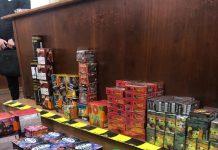 Peste 15.000 de articole pirotehnice, confiscate de poliție