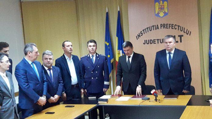 Noul prefect al județului Olt a depus jurământul