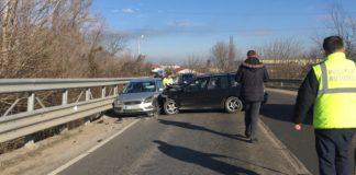Dolj: Accident pe podul din Podari