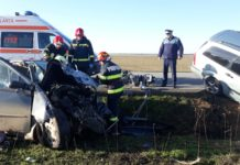 Accident mortal la Punghina