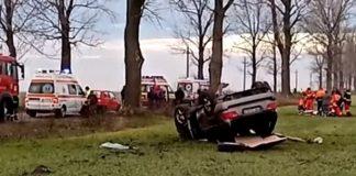 Un polițist din Teleorman a murit într-un cumplit accident rutier. Tânărul de 25 de ani a pierdut controlul volanului și s-a răsturnat cu mașina pe șosea.