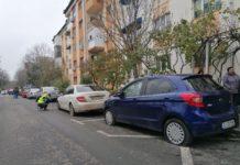 Elevul de 17 ani a înţepat cauciucurile a 25 de autoturisme parcate pe o stradă din Brazda lui Novac