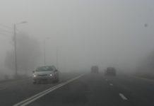 Frig şi ceață în cea mai mare parte a țării