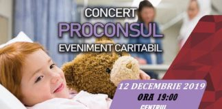 Proconsul, concert caritabil la un eveniment din Craiova
