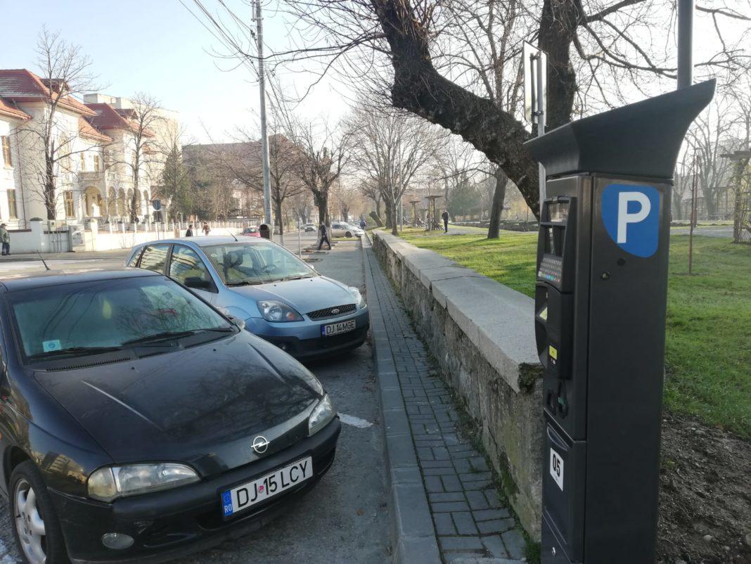 Parcometrele pentru plata parcării în Craiova, montate în luna noiembrie, vor deveni funcţionale din ianuarie