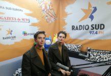 Adrian şi Mihai Anghel, gemenii olimpici la Radio Sud