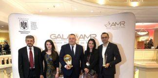 Municipiul Craiova a fost premiat, ieri, la Gala Asociaţiei Municipiilor din România
