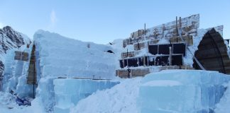 Construcţia hotelului de gheaţă de la Balea Lac, amânată pentru prima dată în ultimii 15 ani