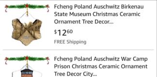 Amazon, criticat pentru ornamentele de Crăciun cu imagini din fostul lagăr de concentrare Auschwitz