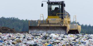 A fost închisă, a doua cea mai mare groapă de gunoi din România