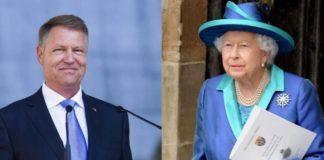 Preşedintele Iohannis va fi primit de Regina Elisabeta aII-a a Marii Britanii