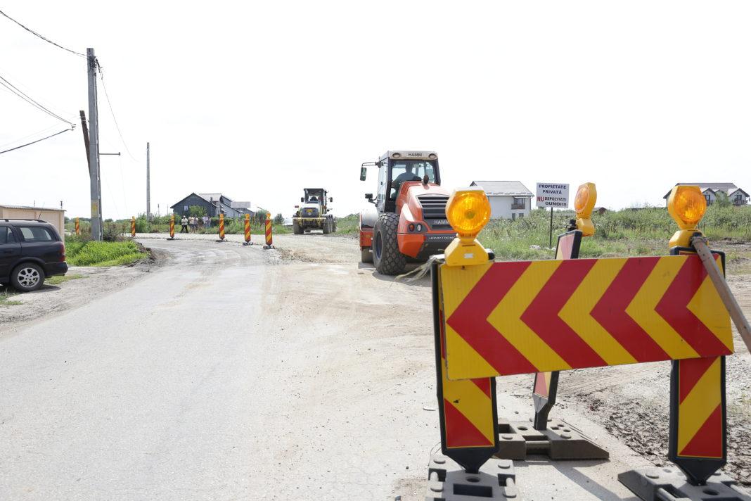 Modernizarea drumului judeţean Giurgiţa - Moţăţei a fost scoasă la licitaţie pentru suma de 25 de milioane de euro