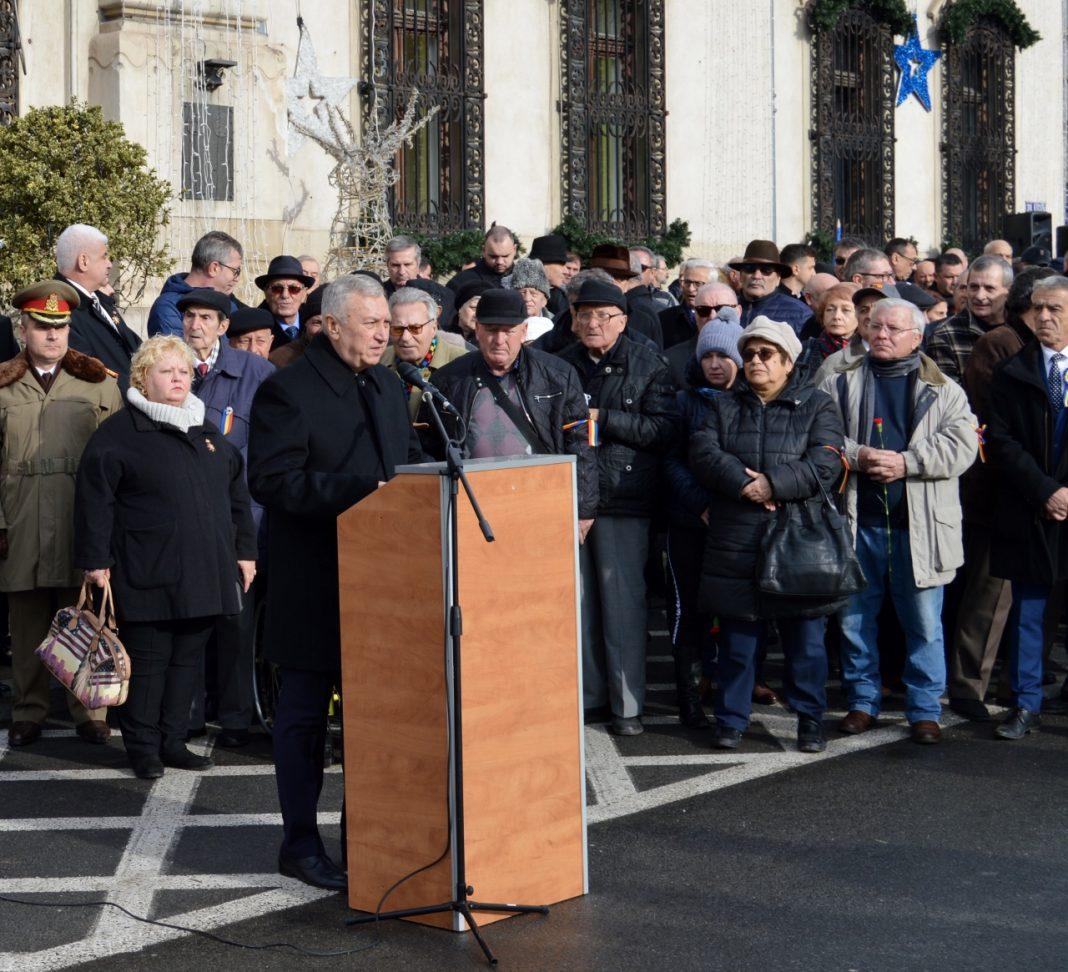 Ion Prioteasa, președintele Consiliului Județean Dolj, a transmis un mesaj craiovenilor cu prilejul Zilei Victoriei Revoluției Române