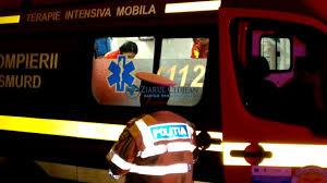 Victima a fost transportată la spital pentru îngrijiri medicale