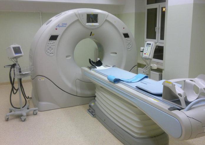 Computerul tomograf a fost montat în Spitalul Județean