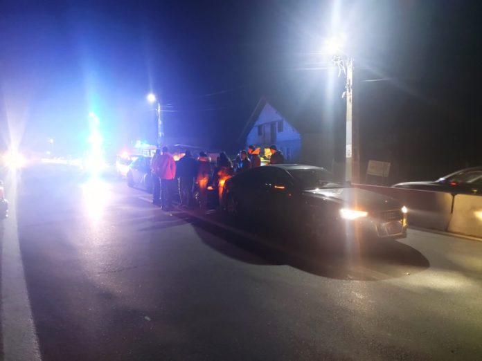 Traficul este blocat pe banda a doua a sensului Sibiu - Râmnicu Vâlcea