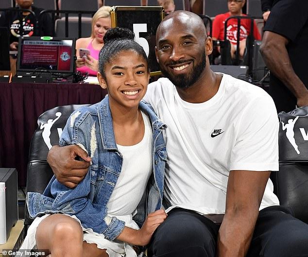 Kobe Bryant şi fiica sa