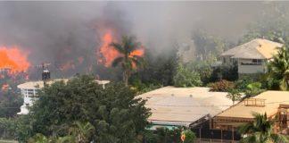 Şapte case din Diamond Head au fost distruse