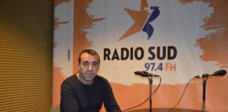 """Alin Chiliman a luat parte la emisiunea """"Repriza de Sud"""" şi a vorbit despre fotbal şi meseria de pompier (Foto: Alex Vîrtosu)"""
