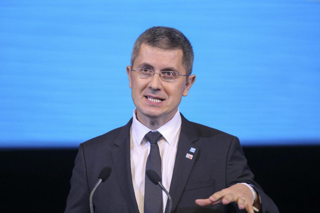 Preşedintele USR, Dan Barna