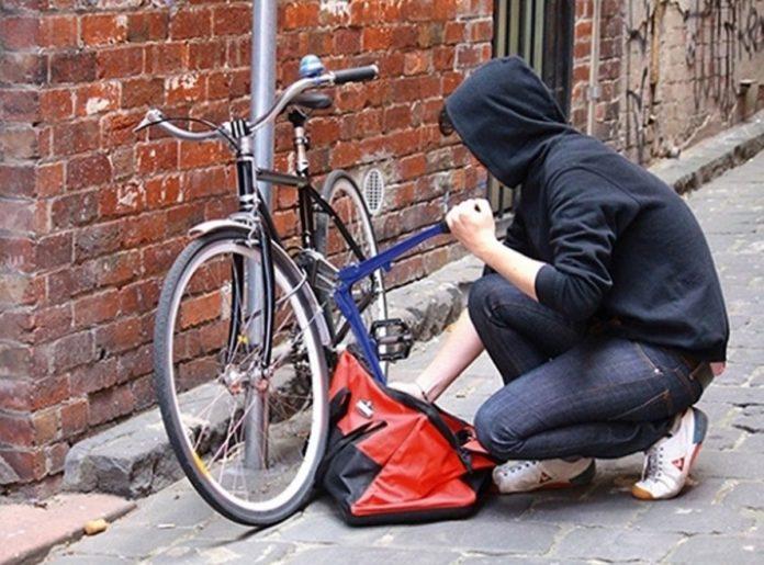 Hoț de biciclete, reținut de poliție la Târgu Jiu
