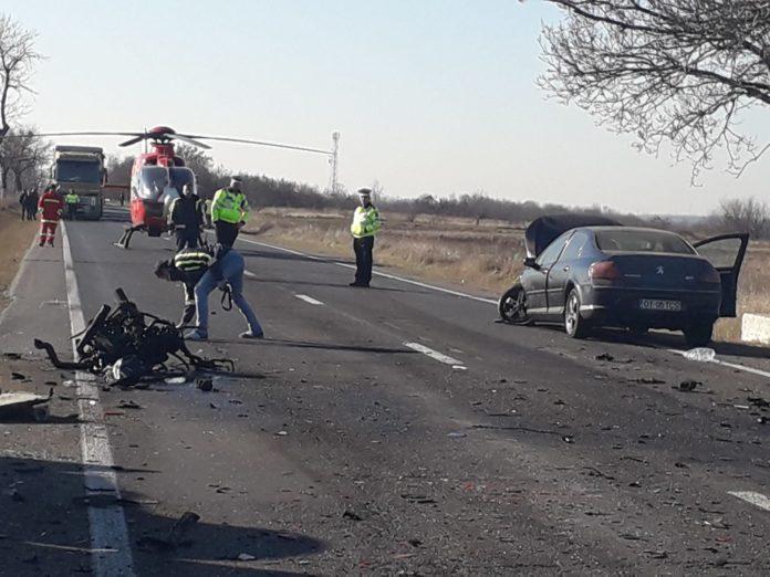 Accident în Argeş